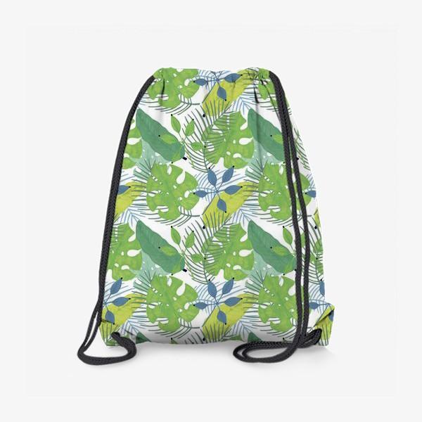 Рюкзак «Тропические растения»