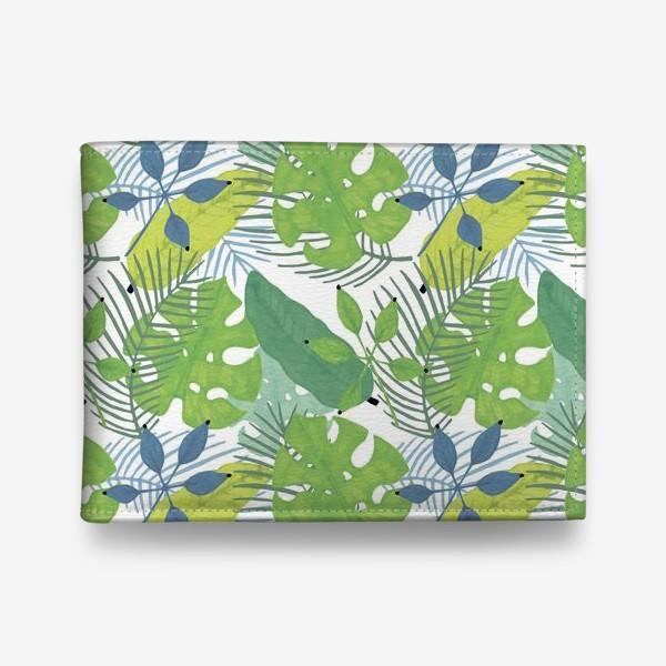 Кошелек «Тропические растения»