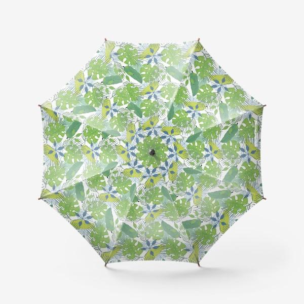 Зонт «Тропические растения»