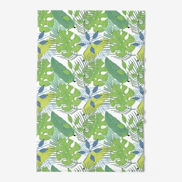 Полотенце «Тропические растения»