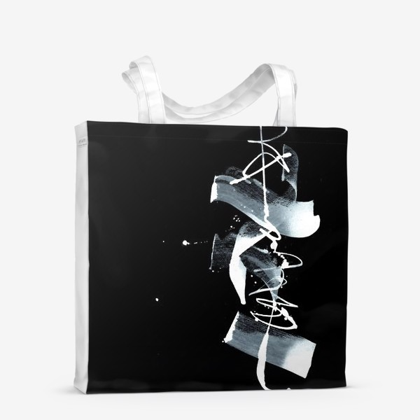 Сумка-шоппер «Абстрактная каллиграфия »