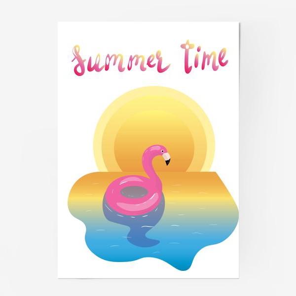 Постер «flamingo»