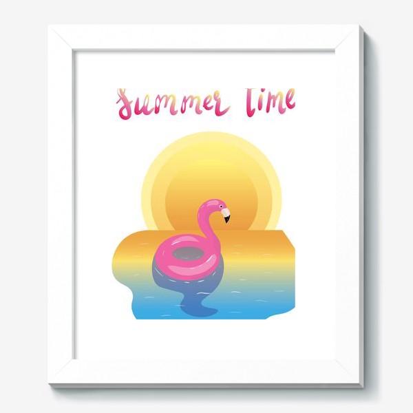 Картина «flamingo»