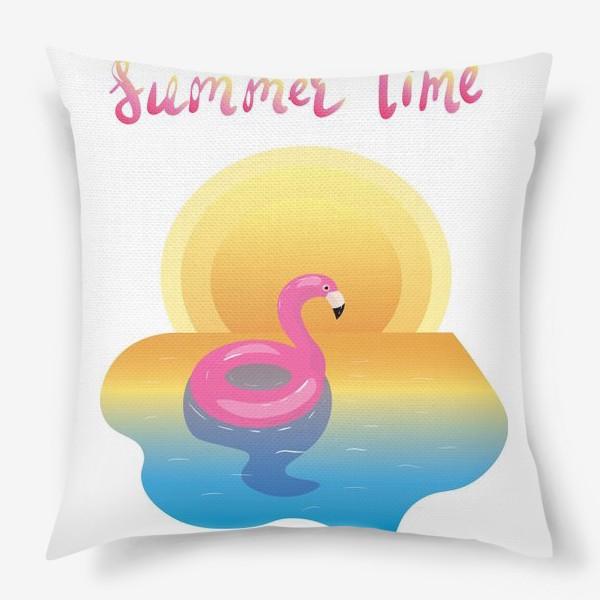 Подушка «flamingo»
