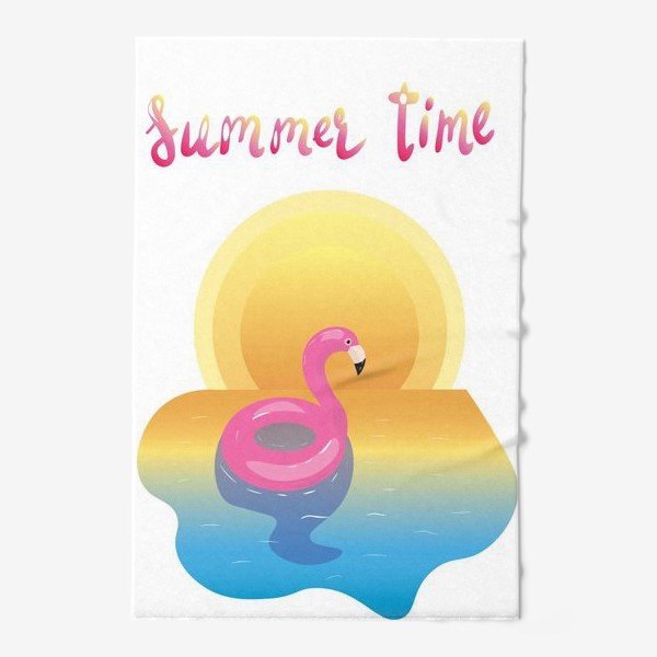Полотенце «flamingo»