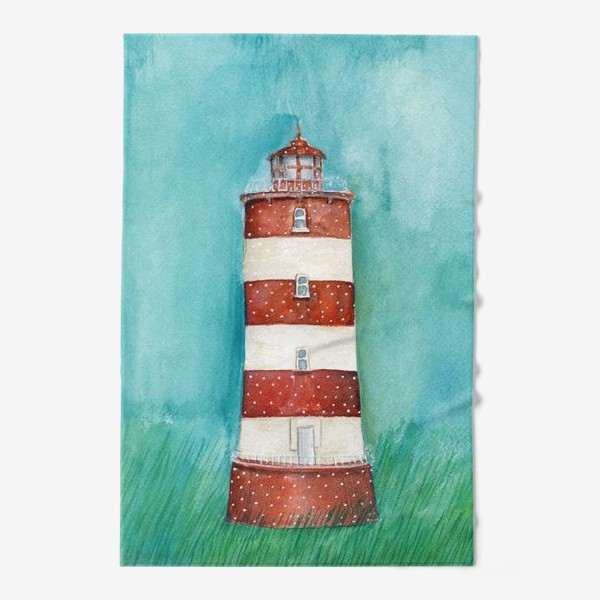 Полотенце «Spring lighthouse / Весенний маяк»