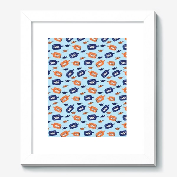 Картина «Бумажные кораблики»