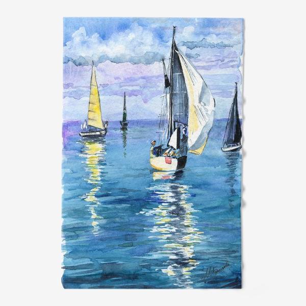Полотенце «Море. Яхты»