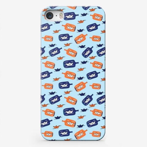 Чехол iPhone «Бумажные кораблики»