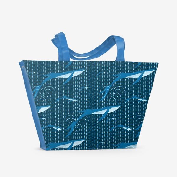 Пляжная сумка «Китодождь»