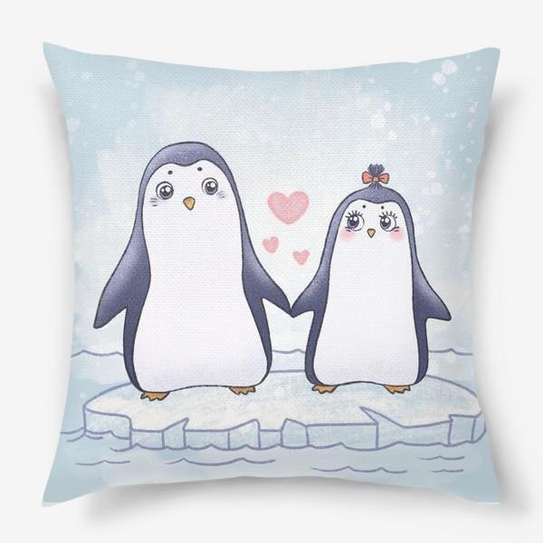 Подушка «Пингвинчики»