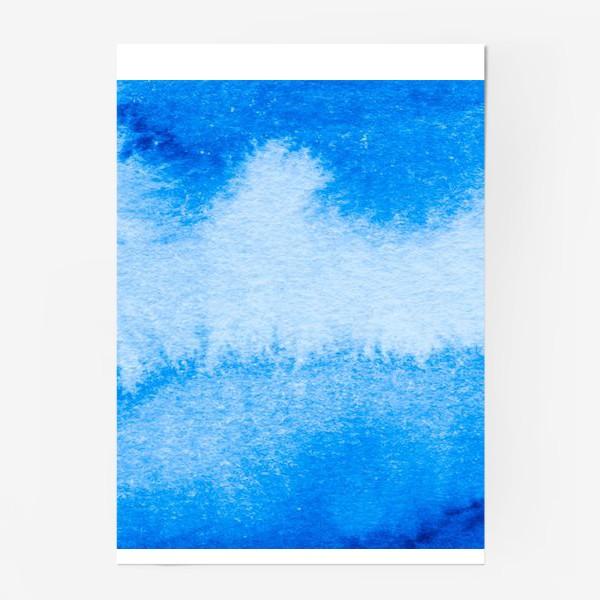 Постер «Синий»