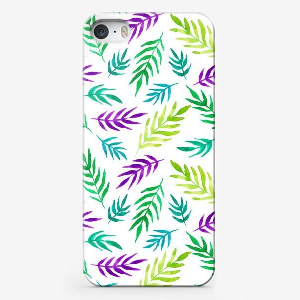 Чехол iPhone «Тропический принт»