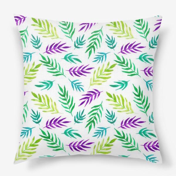Подушка «Тропический принт»