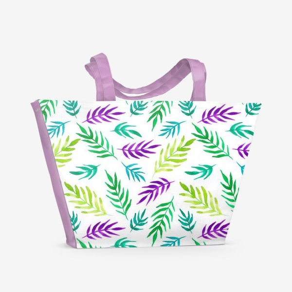 Пляжная сумка «Тропический принт»