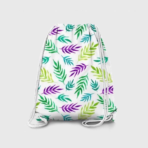 Рюкзак «Тропический принт»
