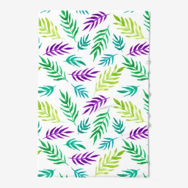 Полотенце «Тропический принт»