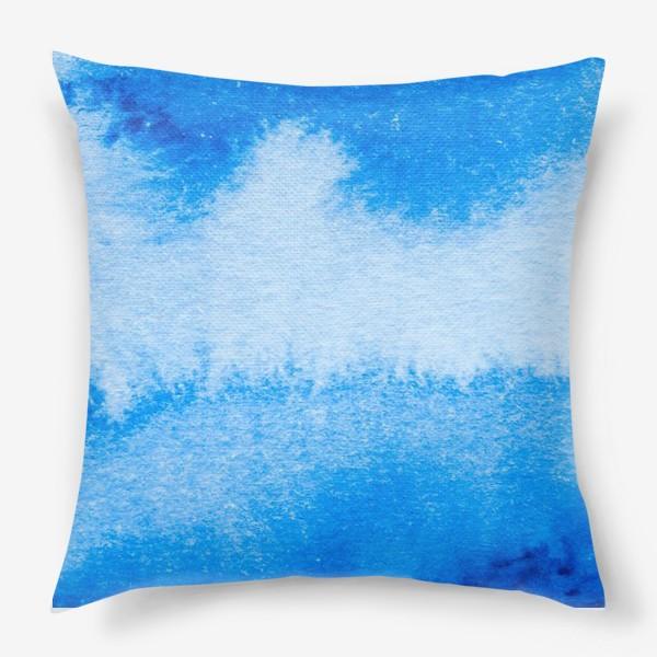 Подушка «Синий»