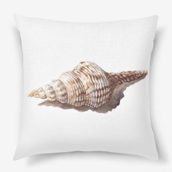 Подушка «море ракушка»