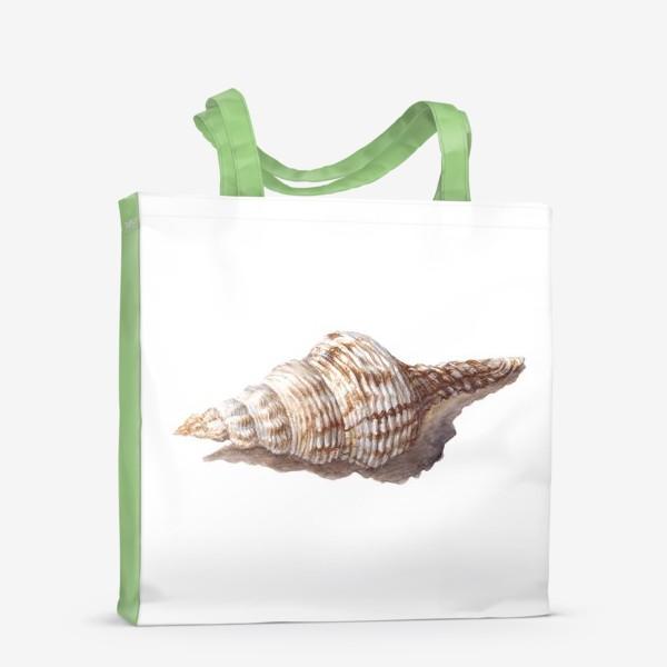 Сумка-шоппер «море ракушка»