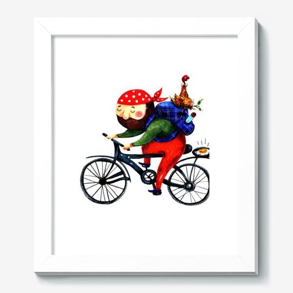 Картина «Суровый Велосипедист»