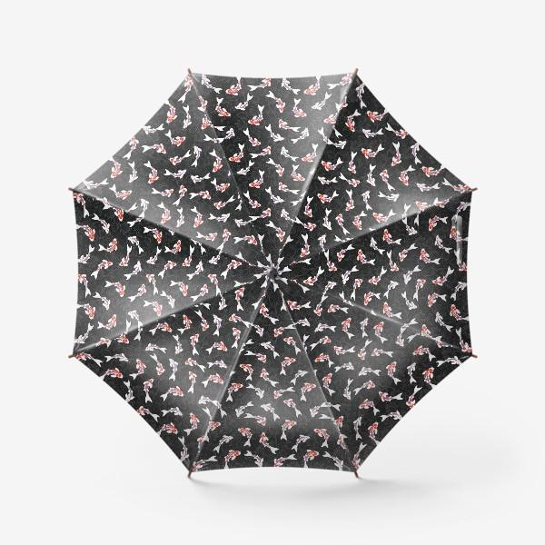 Зонт «Карпы кои»