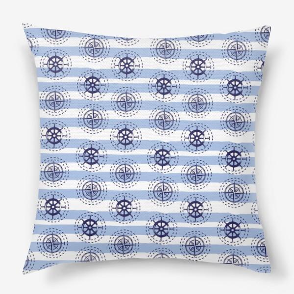 Подушка «Sea pattern»