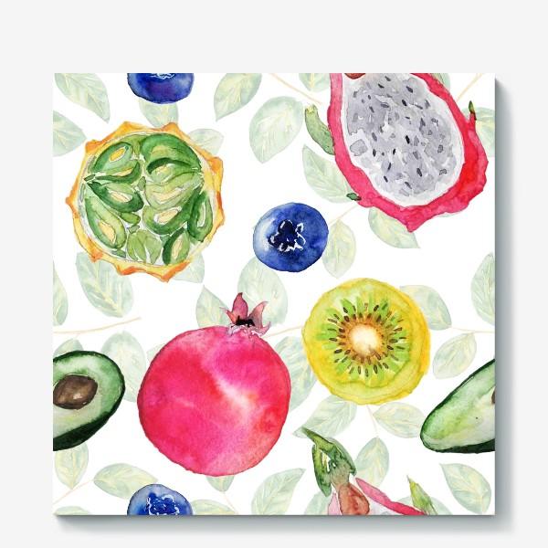 Холст «Сочные фрукты»