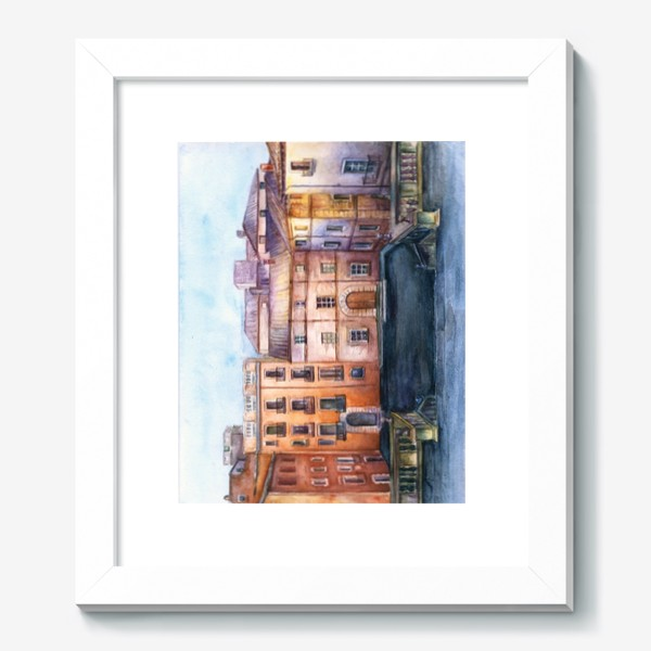 Картина «Испания. Акварель»