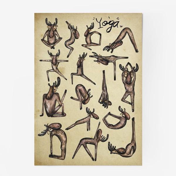 Постер «Йога»