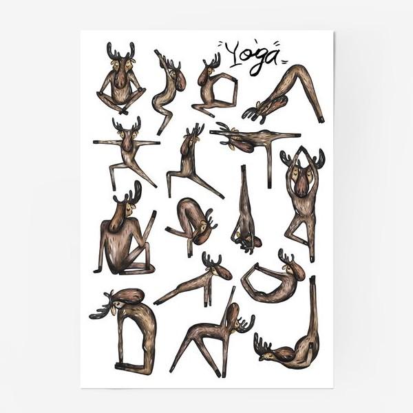 Постер «Yoga»