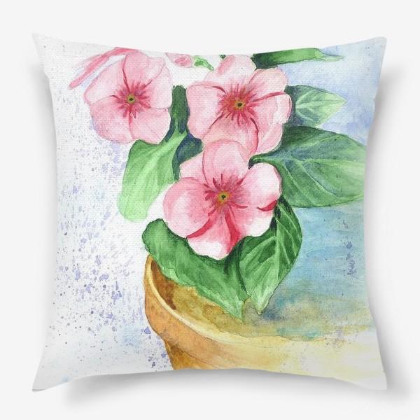 Подушка «Цветы»