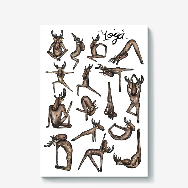 Холст «Yoga»