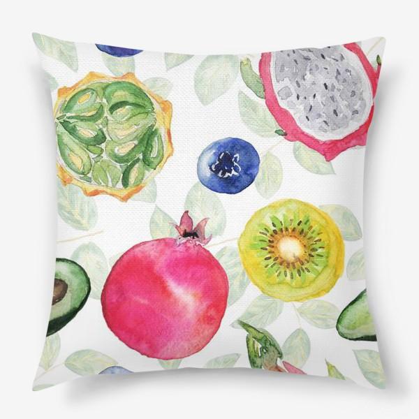Подушка «Сочные фрукты»