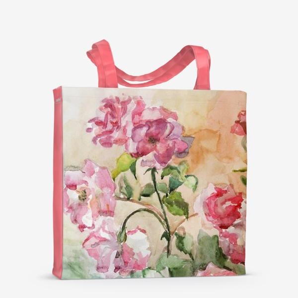 Сумка-шоппер «Июньские розы»
