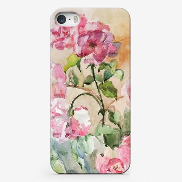Чехол iPhone «Июньские розы»