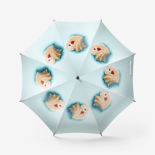 Зонт «Раковина (сердце, любовь)»