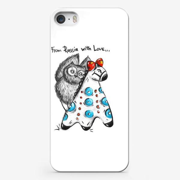 Чехол iPhone «Русская Сова»