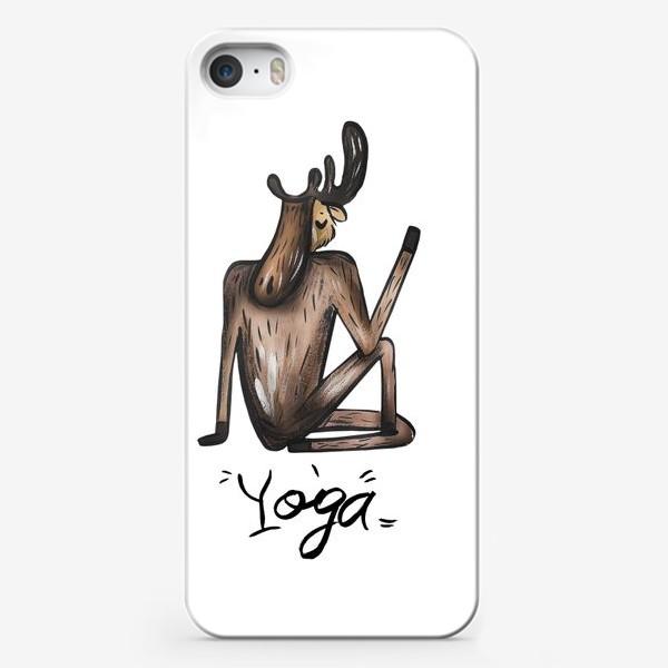Чехол iPhone «Йога »