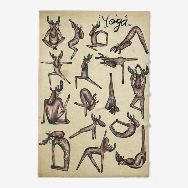 Полотенце «Йога»