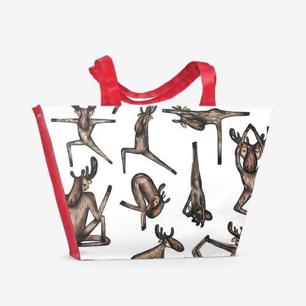Пляжная сумка «Yoga»
