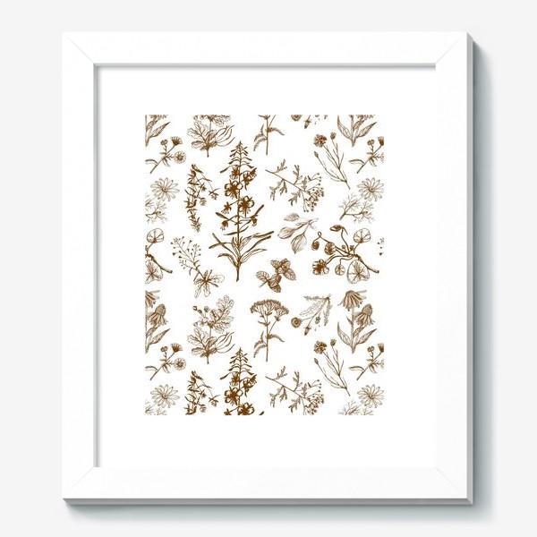Картина «Летние полезные травы»