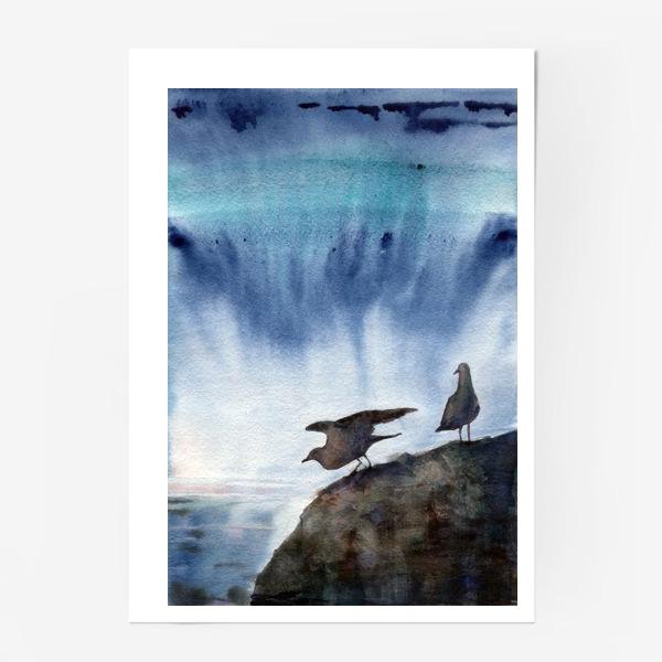 Постер «Две чайки.»