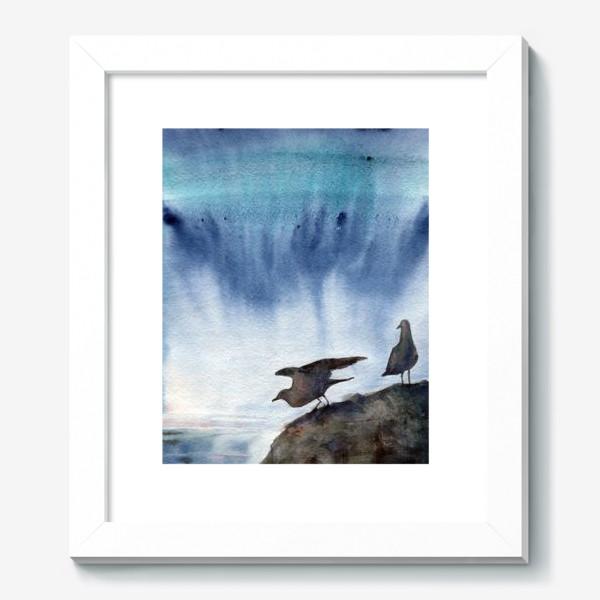 Картина «Две чайки.»