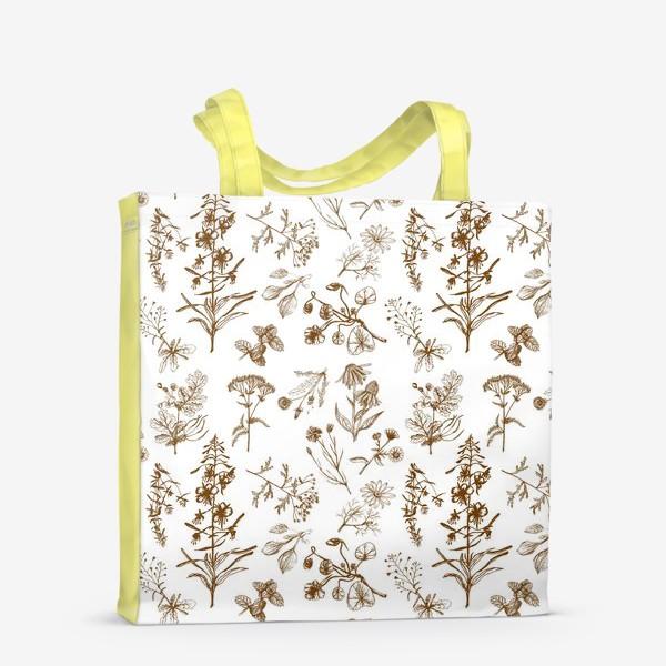 Сумка-шоппер «Летние полезные травы»