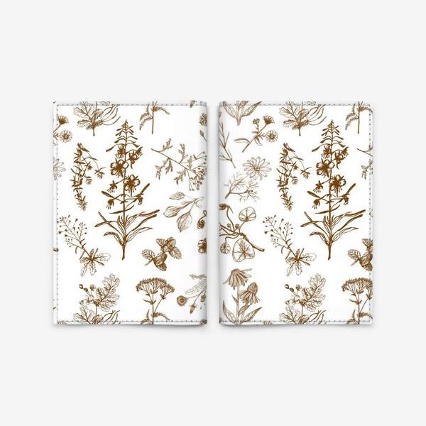 Обложка для паспорта «Летние полезные травы»