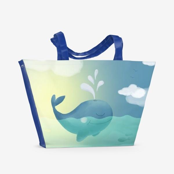 Пляжная сумка «Кит»