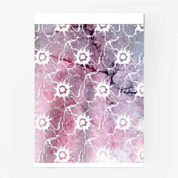 Постер «Яркие цветы анемоны»