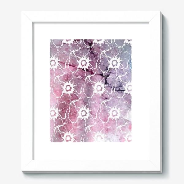 Картина «Яркие цветы анемоны»