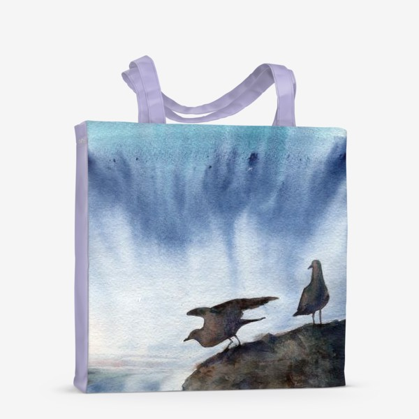 Сумка-шоппер «Две чайки.»